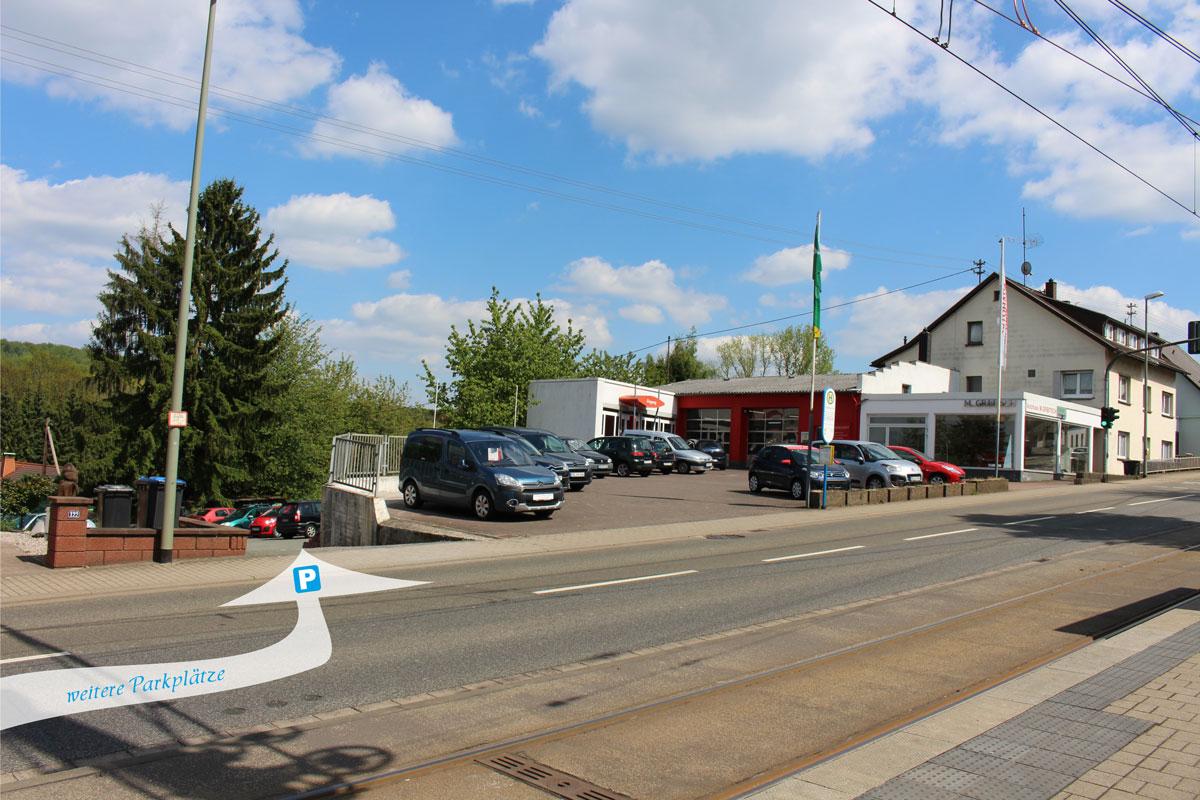 Weitere Parkplätze Autohaus M. Gribitsch Riegelsberg