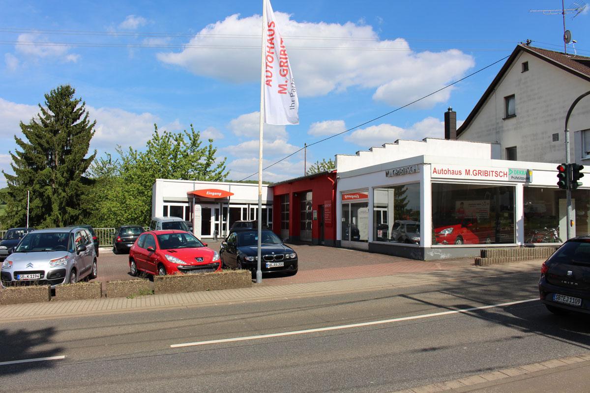 Autohaus Gribitsch Rigelsberg - Saarland - 66292 - Qualität und Kompetenz seit 1963